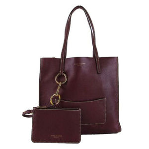 Marc Jacobs Purple Leather Tote Bag$425.00